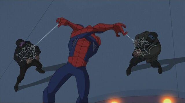File:Spider-Man Webs Robbers SSM.jpg