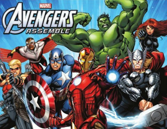announcement image not a representation of final animation - Avengers Marvel