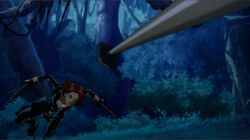 Widow Dodges Spear UA2