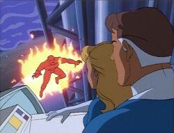 Torch-Skrull To Destroy Shuttle
