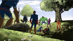 Avengers Guardians Peace AEMH