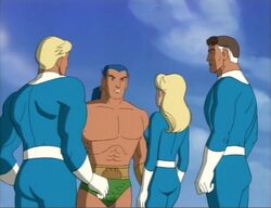 Namor Helps Fantastic Four