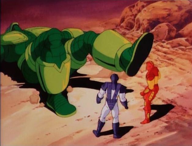 File:Iron Man War Machine Flip Titanium Man.jpg