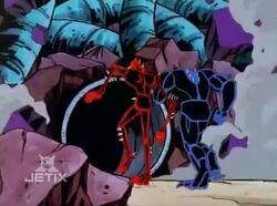 Venom Carnage Flee Symbiote Cavern