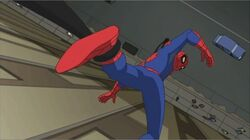 Venom Snatches Spider-Man SSM