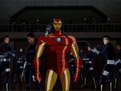 SHIELD Arrests Iron Man AEMH