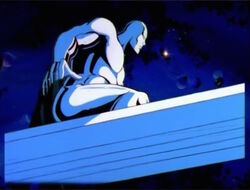 Silver Surfer Board Animation Mistake