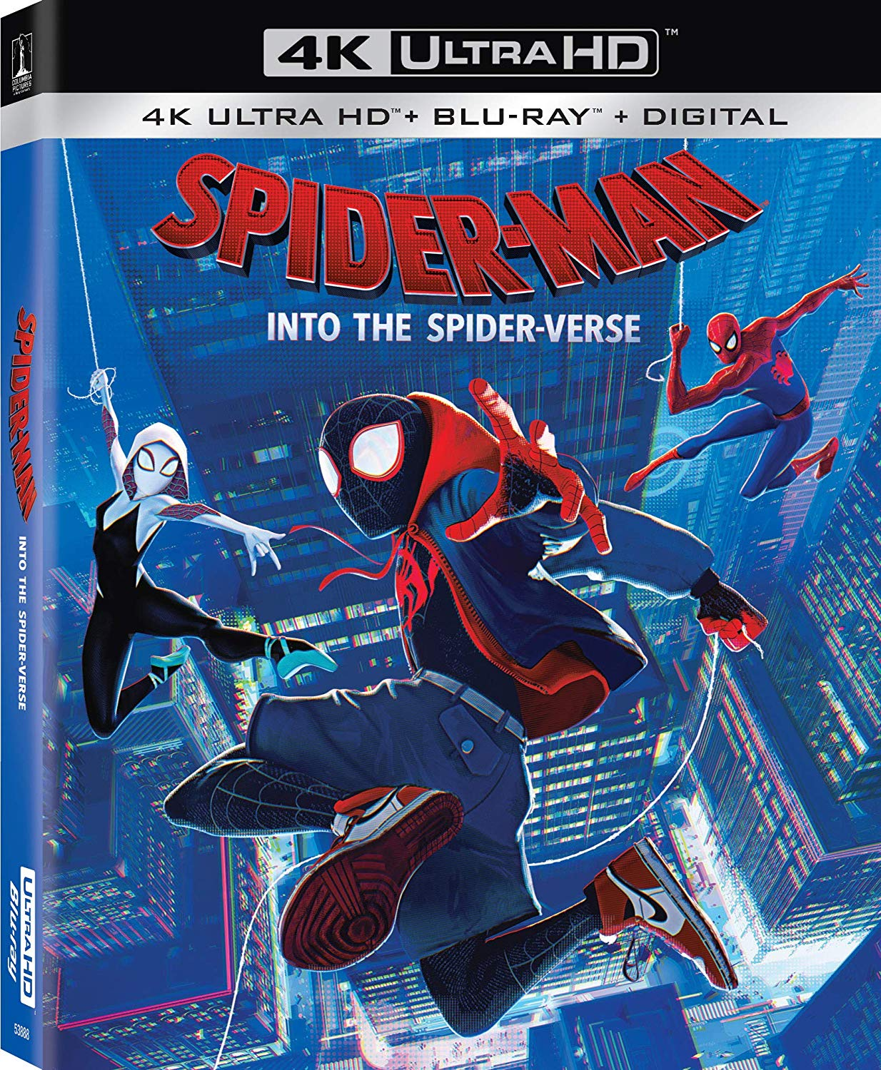 Spider Man Into the Spider Verse Movie Poster High Quality Prints B2