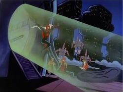 Spider-Man Escapes High Evolutionary Tower