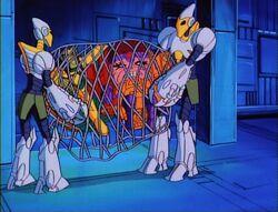 MODOK Robots Lift Mandarin MODOK