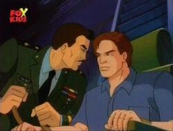 Glenn Threatens Bruce