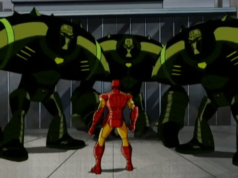 File:HYDRA Dreadnaughts Surround Iron Man AEMH.jpg