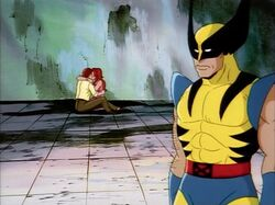 Wolverine Leaves Jean Scott Kissing