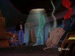 HOMER Sees Rick Caused Debris