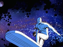 Silver Surfer Begins Search
