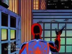 Spider-Man Turns Back on Counter-Earth