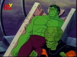 Leader and Hulk
