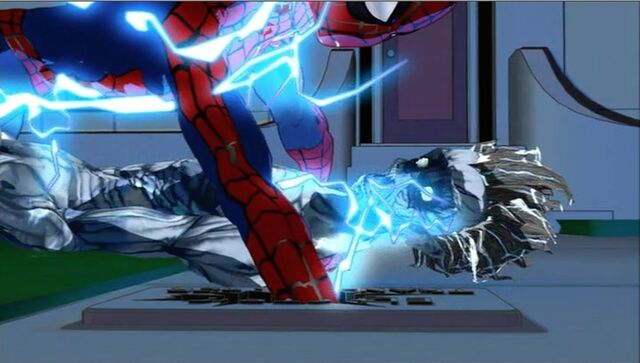 File:Spider-Man Punches Transformer SMTNAS.jpg