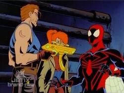 John Threatens Spider-Man