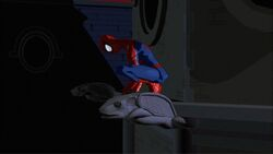 Spider-Man Sad SMTNAS