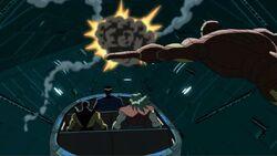 Heroes Escape Galactus Ship AEMH