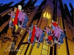 Knights See Burning Machine Man