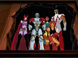 Avengers Confront Ultron