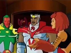 Falcon Joins Avengers