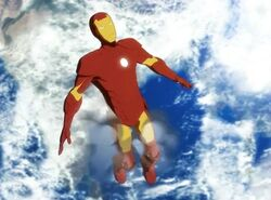 Iron Man Space Cool Off IMAA