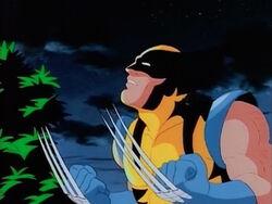 Wolverine Threatens Tin Woodsman