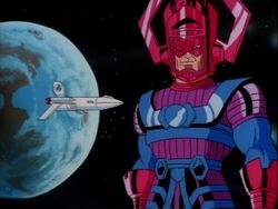 Galactus Threatens Earth
