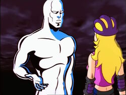 Silver Surfer Meets Frankie