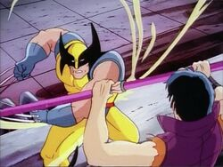 Wolverine Slashes at Callisto