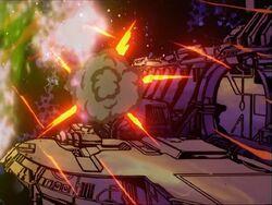 Asteroid Debris Damages Space Station