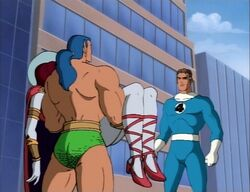 Namor Brings Dorma to Mister Fantastic
