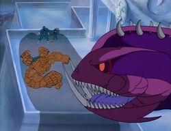 Thing Punches Kraken