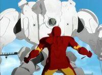 Iron Man vs the Crimson Dynamo