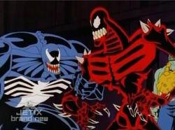 Venom Wonders About Counter-Earth Spider-Man
