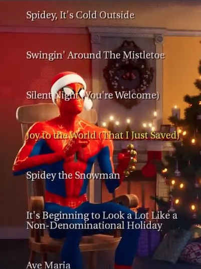 Spider-Man Christmas Album SMITSV