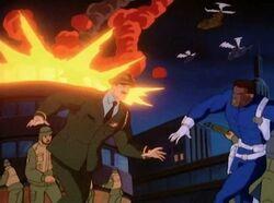 Hulkbusters Stark Explosion