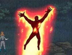 Human Torch First Flight