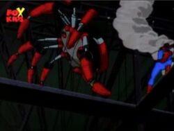 Spider-Man Trips Black Widow
