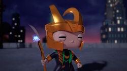 Loki Enjoys Heroes Fight SBD