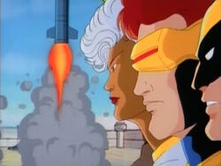 X-Men See Missile Launch