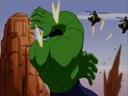 Hulkbusters Shoot Hulk AEMH