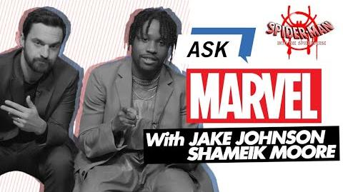 Jake Johnson and Shameik Moore Answer Into the Spider-Verse questions