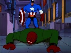 Cap Throws Skull