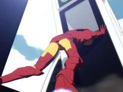 Iron Man Stops Train IMAA