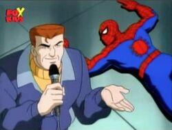 Eddie Spider-Man Unmasking Broadcast