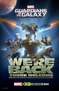 Gotg Were Back Poster
